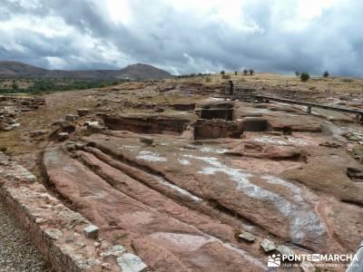 Yacimiento celtíbero de Tiermes y Hoz de Ligos;cultura y viajes puente constitución